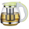 1500ML Glass Teapot Kettle Drinkware Heat-Resistant Stainless Steel