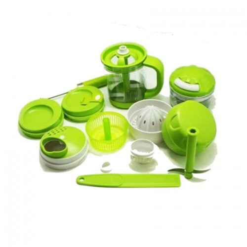 16 Peices Multiprocessor Juicing Mixing Mashing and Chopping Set