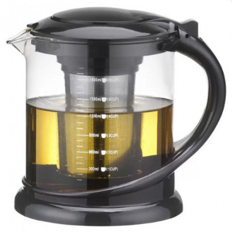 1800ML Multi-Functional Teapot Coffee Maker With Stainless Infuser