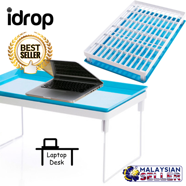 idrop 2 in 1 Multipurpose Portable Laptop Desk Rack