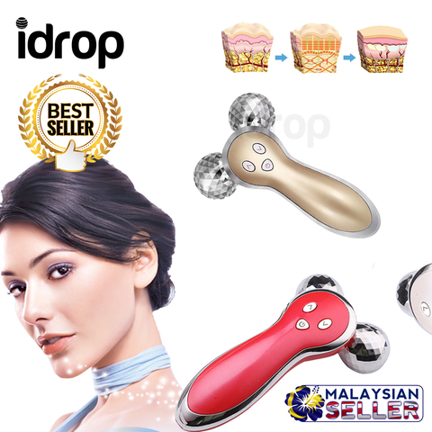 iDrop 3D Electric Acupuncture Face Beauty Massager Rechargeable
