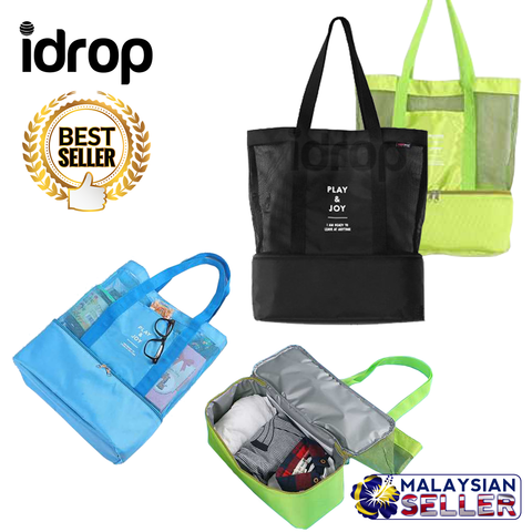 iDrop 2 in 1 Multipurpose Double Layer Waterproof Trendy Bag For Travel Picnic