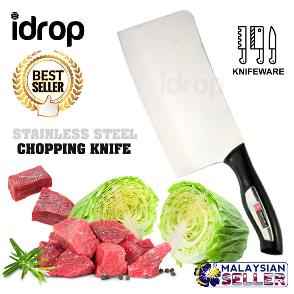 idrop 7.5 Inch Stainless Steel Professional Chopping Knife