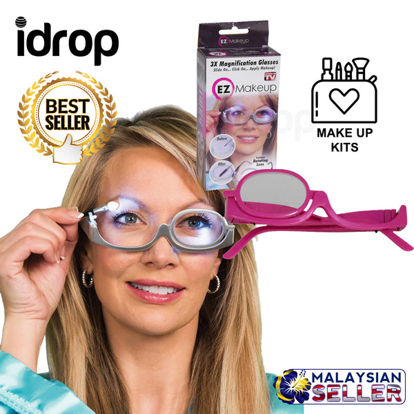 idrop 3X Magnification Make Up Glasses Spectacles Make Up Tools