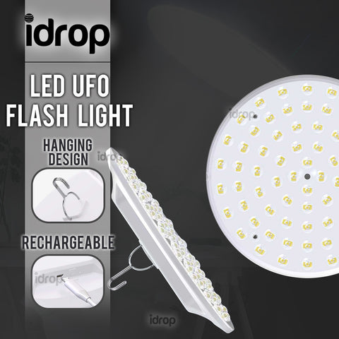 idrop Rechargeable Warehouse Hanging UFO LED Lamp