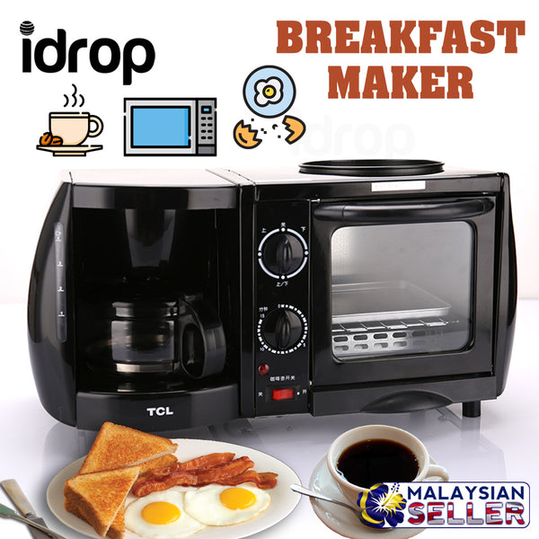 idrop TCL - 3 in 1 Multipurpose Electric Breakfast Machine Maker [ TKX-J05051A ]