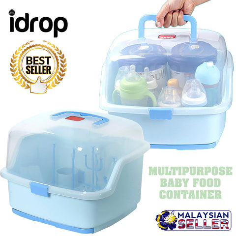 idrop Baby Food Milk Bottle Container Storage Box