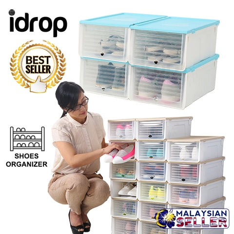 idrop Multifunction Shoe Storage Container For Shoe Shelf Rack Organizer