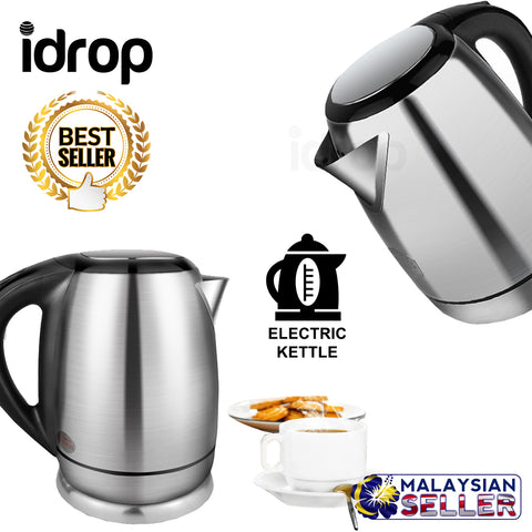 idrop 2.0L Stainless Steel Automatic Power Off Electric Kettle