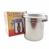 1 Peice Stainless Steel Canister Set
