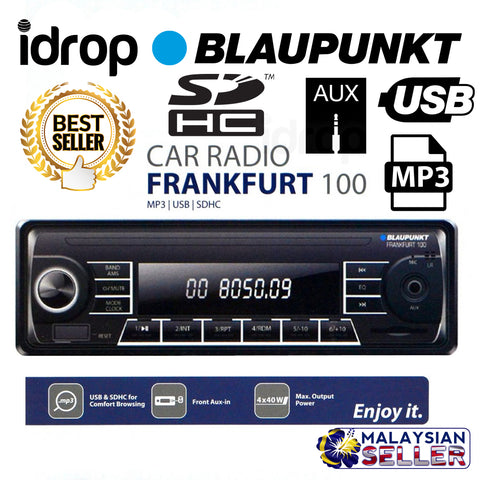 idrop Blaupunkt Frankfurt 100 Car Radio With MP3 USB SDHC