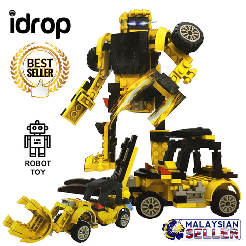 idrop City Construction Robot Toy Set For Kids Children (1 BOX)