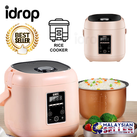 idrop 1.5L Non-Stick Multipurpose Square Shape Electric Rice Cooker