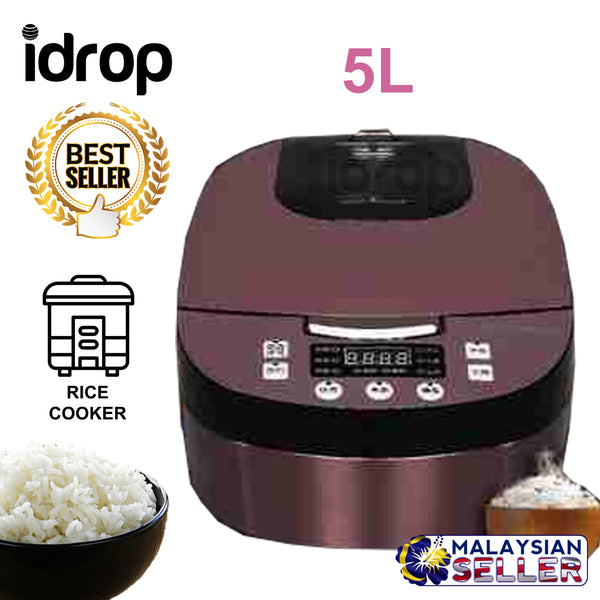 idrop 5L Mini Electric Rice Cooker Kitchen Appliances