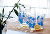 7Pcs Fruit Juice Drinking Glass Set Deli Water Drinking Set