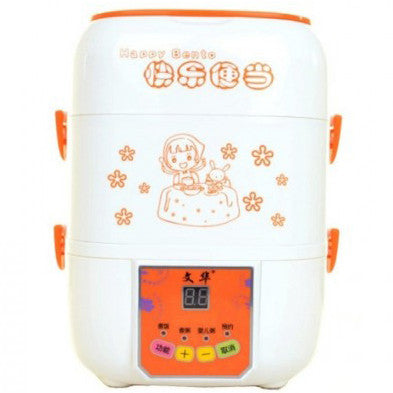2.5L 3 Layer Electric Happy Lunch Box