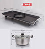 2 In 1 Electric BBQ Grill and Steamboat