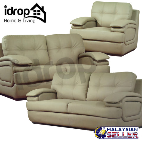 idrop EXCLUSIVE ELITE Casual Living Home Set Sofa Collection [ Set of 3 ] [2020]
