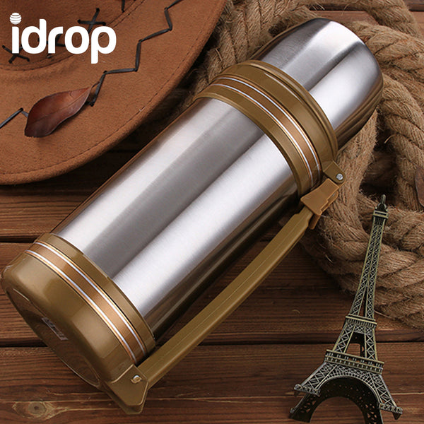idrop Stainless Steel Double-wall Vacuum Insulated Water Bottle 880ml