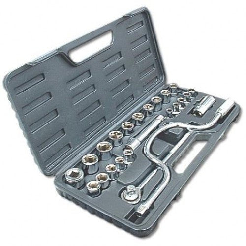 25 PCS Blackspur 12 Socket Set