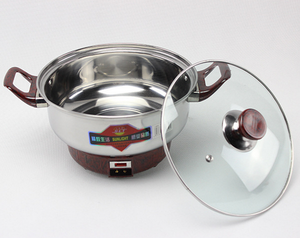 26cm Anti-Dry Electric Heating Pot