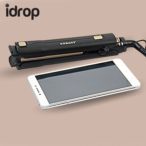 idrop Sokany HS-954 Portable Telescopic Travel Hair Hairdressing Straightener