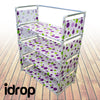 idrop Creative Rack 4 Layers Plastic Sheet Storage Shoe Rack Portable Stand Shelf Home Furniture