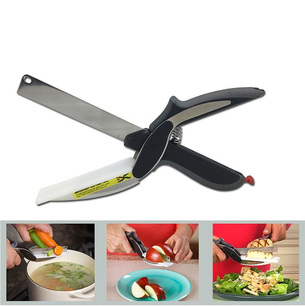 2 In 1 Knife And Cutting Board