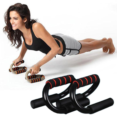 Soft Portable Fitness S-type Press Push Up Push-Ups Stands Rack Chest Bar Utility Body Muscle Building Equipment