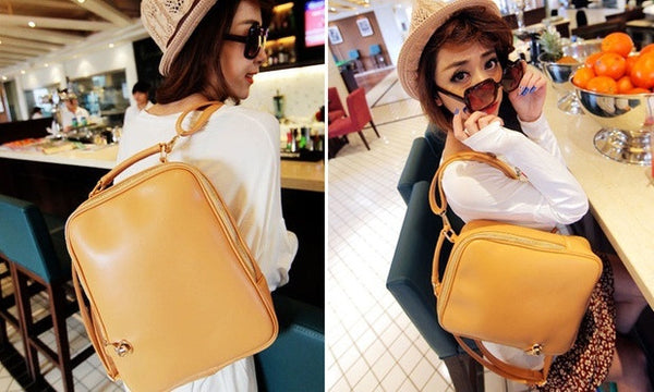 3 - Way PU Leather Bag
