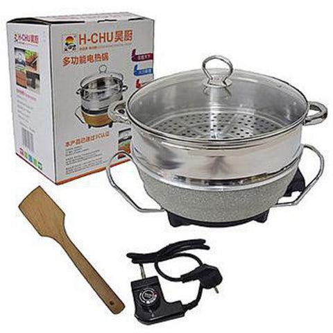 3.5L Multi Function Electric Stainless Steel Pot With Hanger