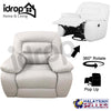 idrop Good Quality 360-Degree Rotate Collection Living Sofa Collection [1 Seater] [3038]