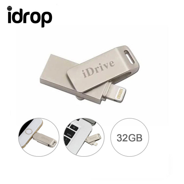 idrop iDrive U Flash Disk USB Memory Stick Drive for iPhone / i Pad Air [32G]