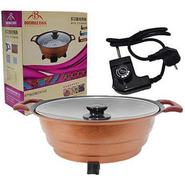 34cm 4L Multi Function Electric Heat Soup Pot
