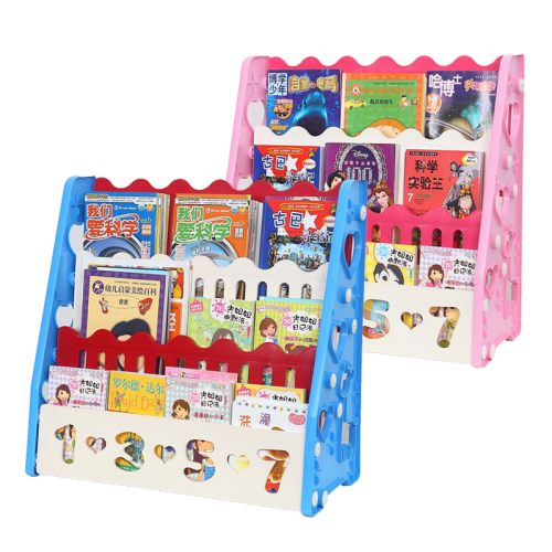 3 - Tier Colourful Kids Bookshelf