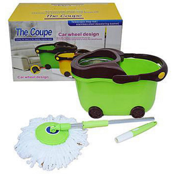 The Coupe Bucket & Stainless Steel Mop