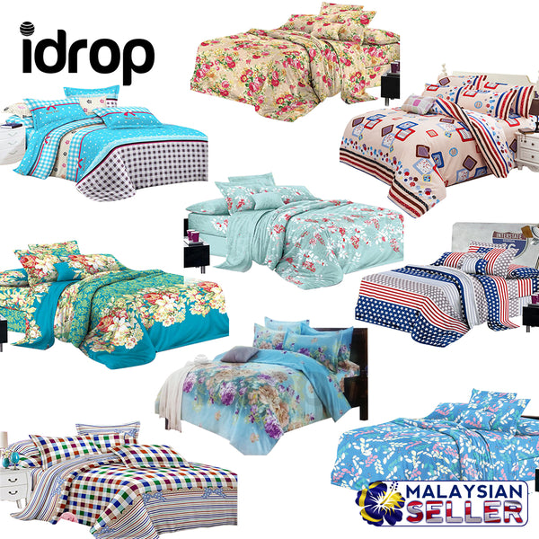 idrop [ QUEEN SIZE ] Hotel Standard - Fitted 550 Thread Count Bedsheet