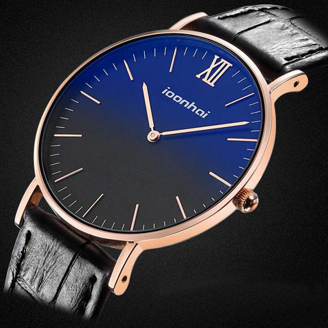 ioonhai Ultra Slim 7mm Fashion Classic Modern Watch