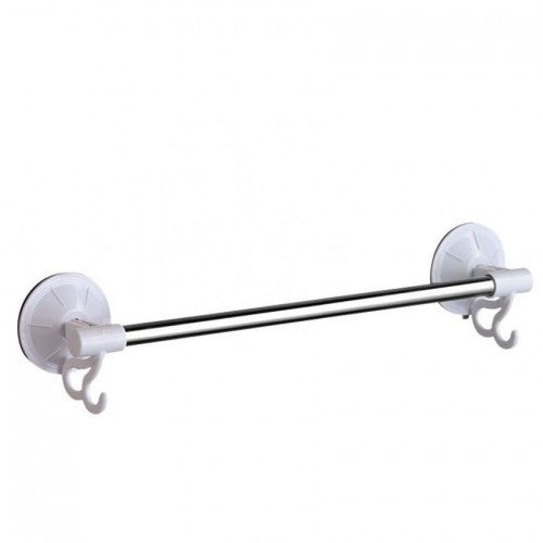 40cm Stainless Steel Mounted Single Bar Multipurpose Towel Rack