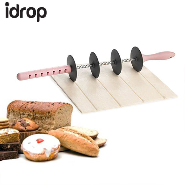 idrop Mini Size 4 Blade Roller Best Kitchen Tools,Stainless Steel