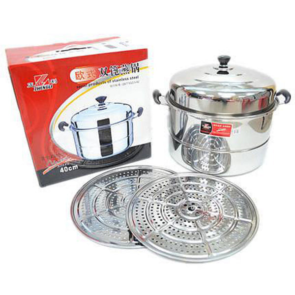 ZL0340 40cm Double Layer Steamer