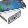 idrop - 5 Port USB Travel Charger Qi Wireless Charger M12