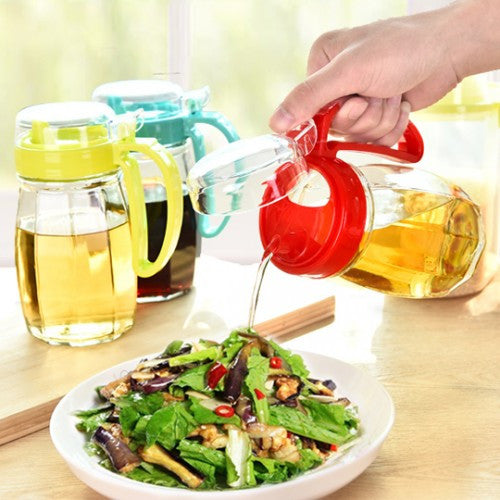 630ML Kitchen Healthy Condiment Bottles