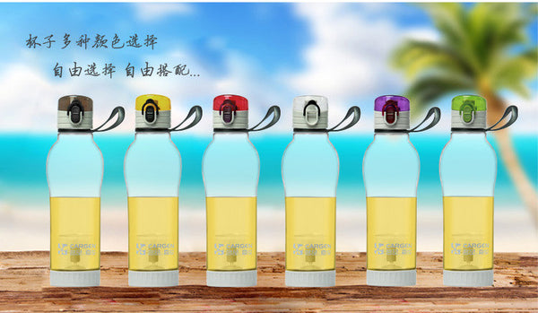 650ML Water Bottle With Tea Infuser