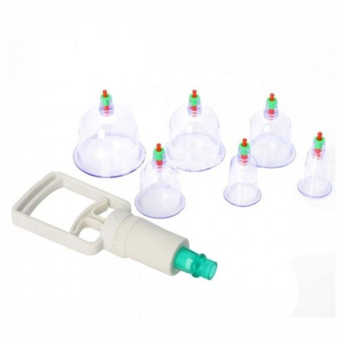 6Pcs Therapy-Cupping Medicine Magnet Pull Out Vacuum Apparatus
