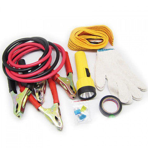 6 PCS Auto Roadside Emergency Tool Kit Bag