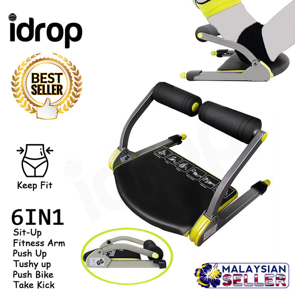 idrop Multi Function 6 in 1 Gym Fitness Workout 6 Pack machine for Home Gym