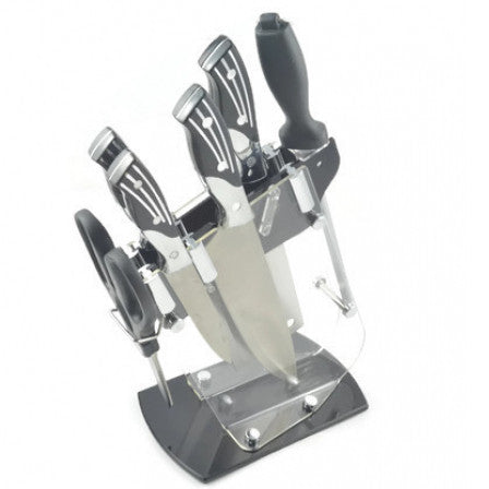 6 Pcs Knife Set With Holder