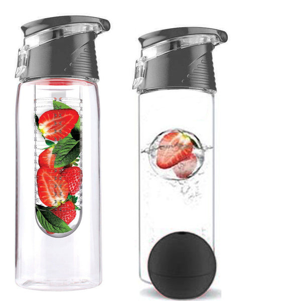 700ML New Design Juice Infusing Water Bottle BPA With 4 Colors