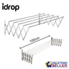 idrop Extendable Clothes Hanger ( 100cm ) - 5 Bar Hanger - Wall Assembly